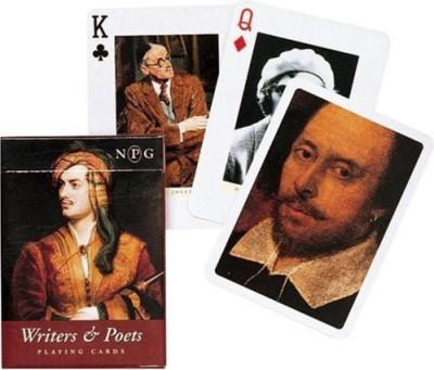 Piatnik Writers & Poets Single Deck Playing(Set Of 52 S)