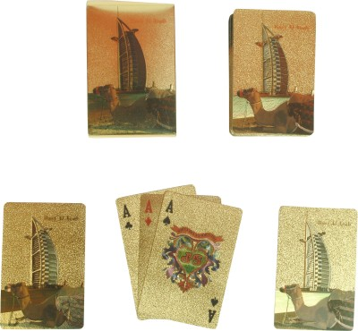 BS Spy Gold Cards Burj DS Duplex Centered Board