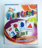 Awals 4 in 1 Flash Cards (Multicolor)