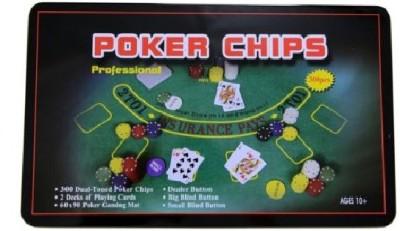 Zavia 300 Dual Toned Poker Chips Set