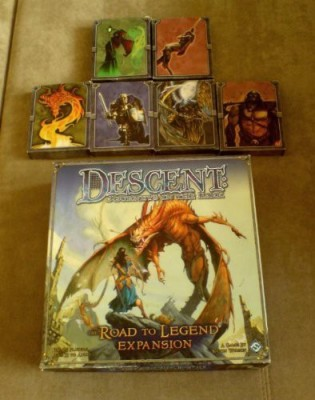 Fantasy Flight Games Descent The Road To Legend Expansion