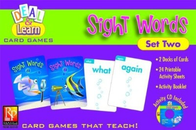 REMEDIA PUBLICATIONS Deal & Learn Sight Words Set 2
