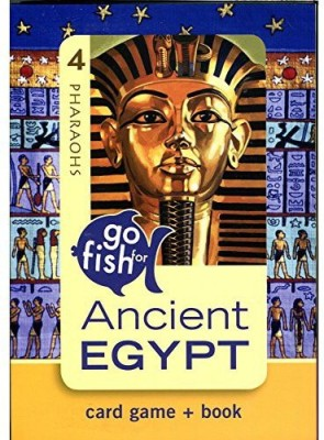 Birdcage Press Birdcage Ancient Egypt Press Go Fish& Book
