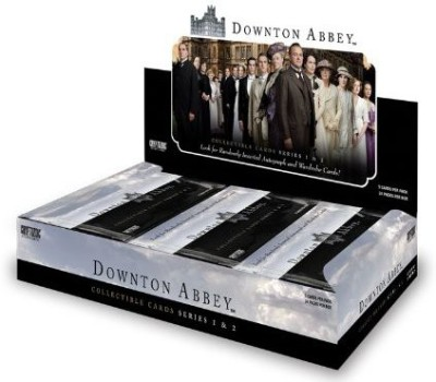 Downton Abbey Series 1 & 2 Factory Sealed Trading Box With 24 Packs