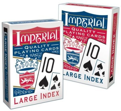 Patch Products Inc. Patch Products Imperial Large Index Playing Cards