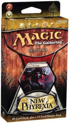 Magic: the Gathering Life For Death Intro Pack Magic New Phyrexia