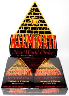 Steve Jackson Games 1995 Illuminati New World Order Collectible