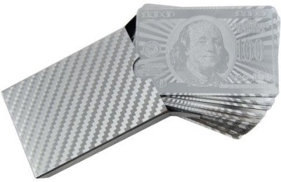 Flintstop Silver Playing Cards
