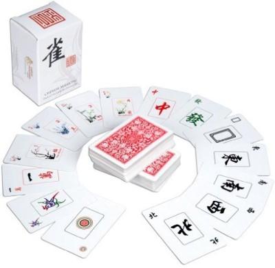 Yellow Mountain Imports Chinese Traditional Mahjong Playing 144 Set