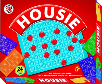 Rashmi Toys HOUSIE 2in1 with SNAKE & LADDER