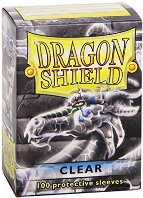 Dragon Shield S Protective Sleeves (100Pack)Clear