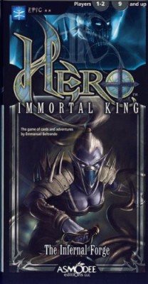 Asmodee Hero Immortal King The Infernal Forge