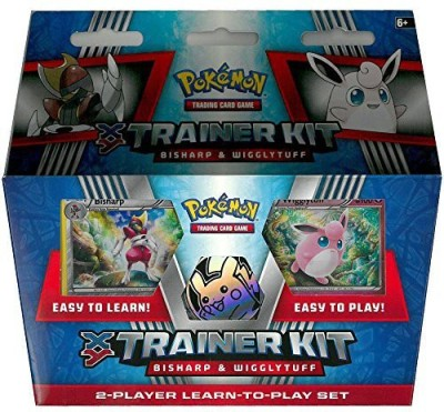 Beckett Publications Pokemon Xy Trainer Kit Bisharp & Wigglytuff