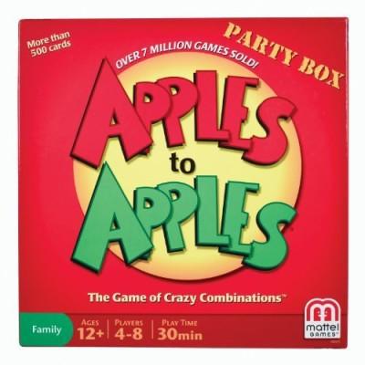 Mattel Games Apples To Apples