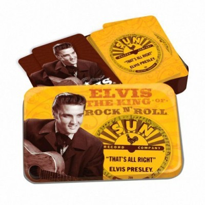 1RetroPlace Elvis Presley Sun Records Playing Set(Yellow)