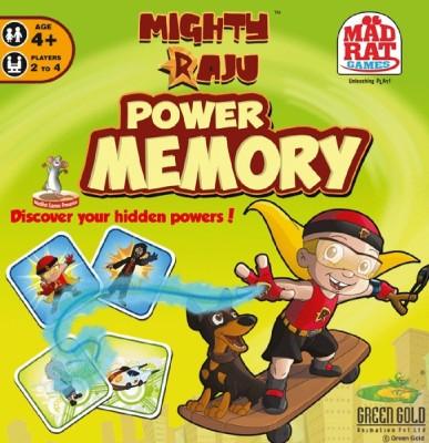 MadRat Games Mighty Raju Power Memory