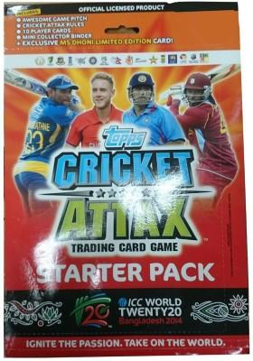 Topps Cricket Attax Starter Pack