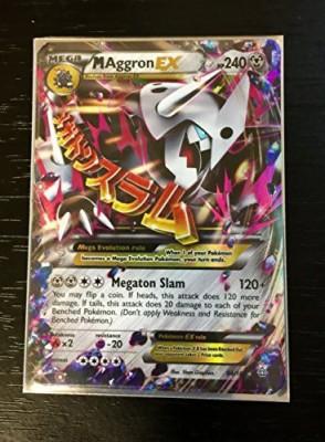 Pokemon Megaaggronex (94/160) Xy Primal Clash Holo