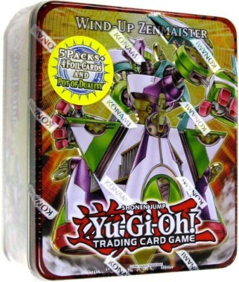 Yu-Gi-Oh! Yugioh Windup Zenmaister Tin