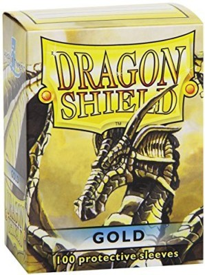 Dragon Shield Protective Sleeves (100 Count)Gold
