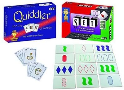 SET Enterprises, INC Set Plus Quiddler Special Edition Combo Pack