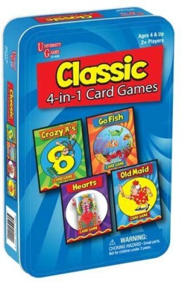 University Games Classic 4In1 Travel
