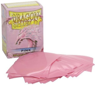 Dragon Shield Protective Sleeves (100 Count)Pink