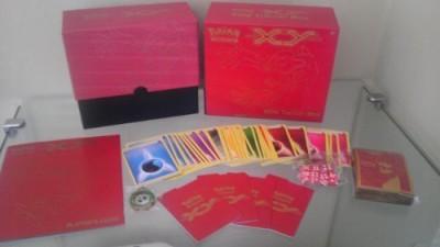 Pokemon Elite Trainer Box X & Y (No Packs) Yveltal (Red Fat Pack)