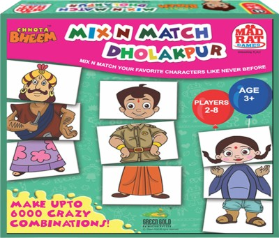 MadRat Games Chhota Bheem Mix N Match Dholakpur