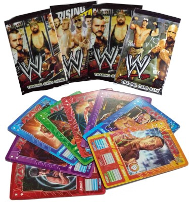 Switch Control WWE Shinning cards 10 packs