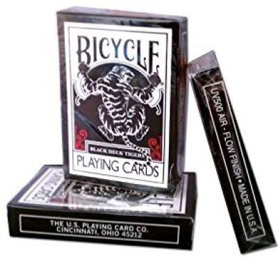 Ellusionist Bicycle Black Tiger Playing High Quality Finish
