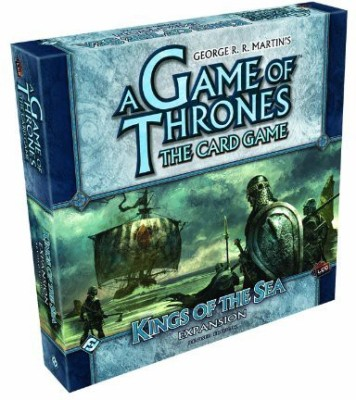 Fantasy Flight Games A Of Thrones Lcg Kings Of The Sea Expansion (Revised)