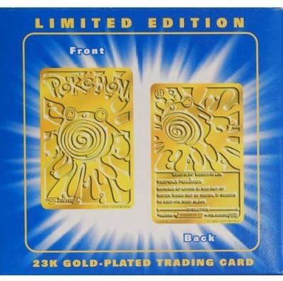 Pokemon Poliwhirl 61 Mib Burger King Gold Blue