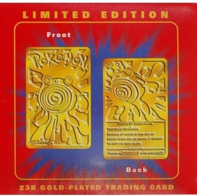 Pokemon Poliwhirl 61 Mib Burger King Gold Red