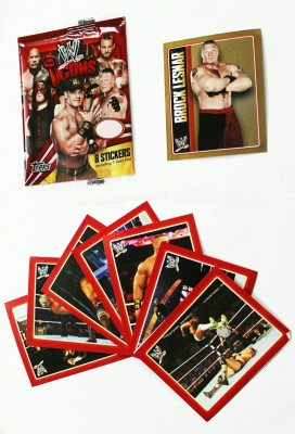 TOPPS INDIA ICON WWE STICKER FLOW PACK 20 PKT