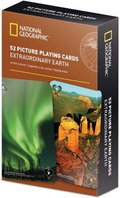 That Company Called IF National Geographic 52 Picture Playing Cards - Extraordinary Earth