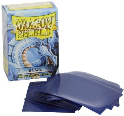 Dragon Shield Protective Sleeves (100 Count)Blue