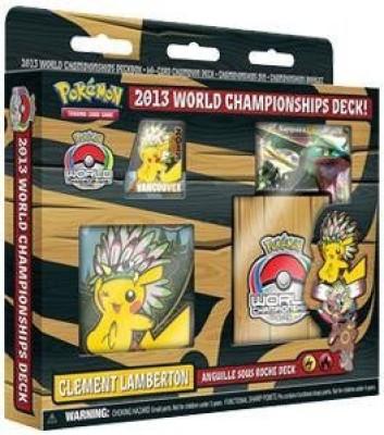 2013 World Championships Pokemon 2013 World Championship Clement LambertonS(Multicolor)