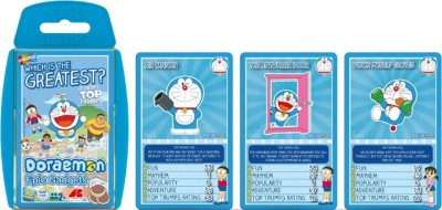 Top Trumps Super Deluxe Doraemon