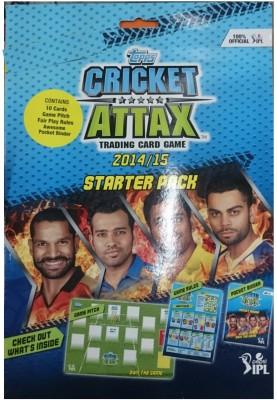 Topps Cricket Attax Starter Pack 14/15