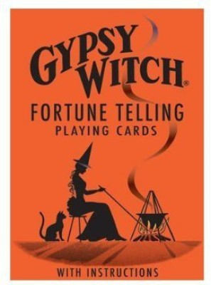 US Games Gypsy Witch Fortune Telling Playing Cards