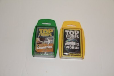 Top Trumps New Amazing Places 2 Pack With Wonders Of The World