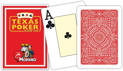 Modiano Texas Poker Jumbo cards Pack of 8
