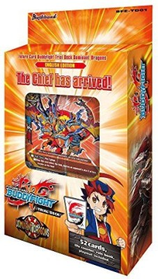 Bushiroad Future Buddyfight Bfetd01 Dominant Dragons Trial Deck