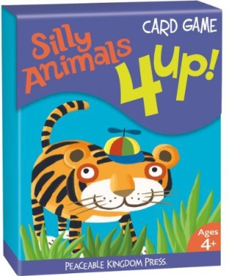 Peaceable Kingdom 4 Up Silly Animals