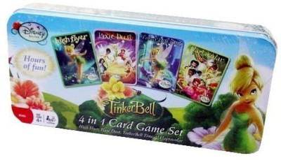 Disney Tinkerbell 4 in 1 Card Games