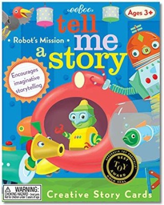eeBoo Tell Me A Story Creative Story Little Robot,S Mission