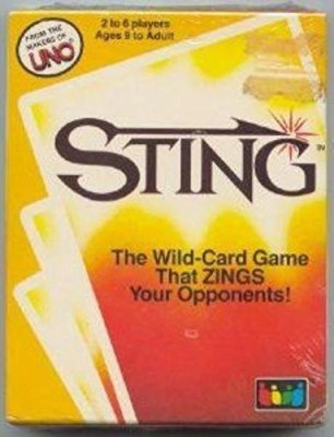 UNO Sting The Wild That Zings Your Opponents