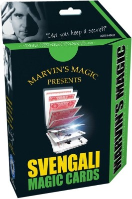 Hamleys Marvins Magic Prof Card Svengali