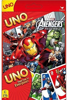 Cardinal Uno Marvel Avengers Assemble Tin Edition